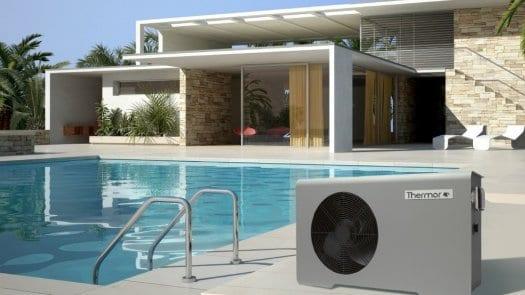 Bomba de calor Aéromax Piscina de Thermor; la solución ideal para alargar la temporada de baño