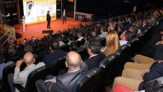 Grupo Ferroli celebra un espectacular evento en el palco de Honor del Estadio Santiago Bernabeu