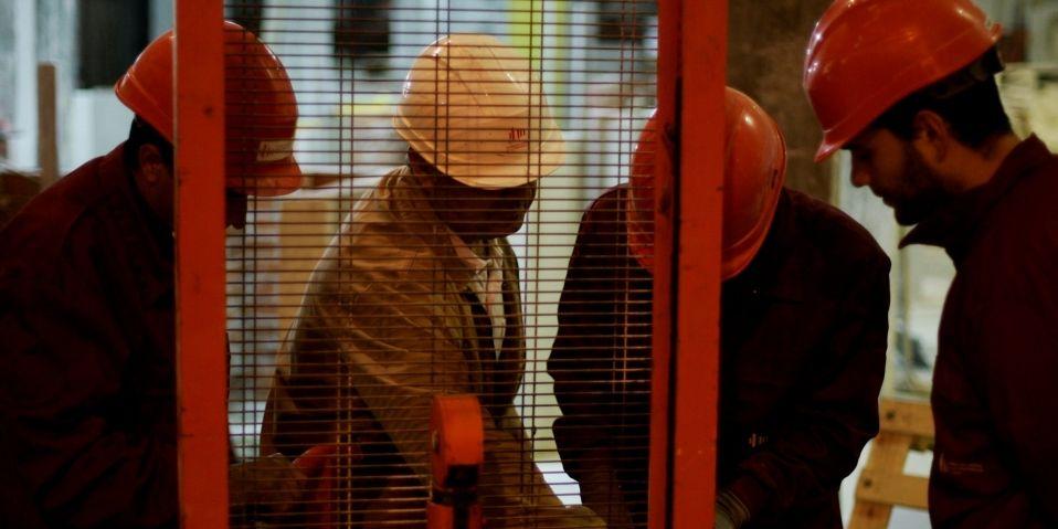 Trabajadores sector de la construcción- informe