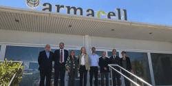 La fábrica de Armacell Iberia en Begur recibe la visita de la Generalitat y de entidades locales