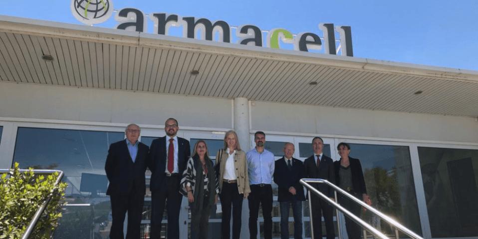 Armacell visita representantes generalitat