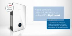 Promoción Junkers: A disfrutar del verano premiando la instalación de los calentadores Hydronext