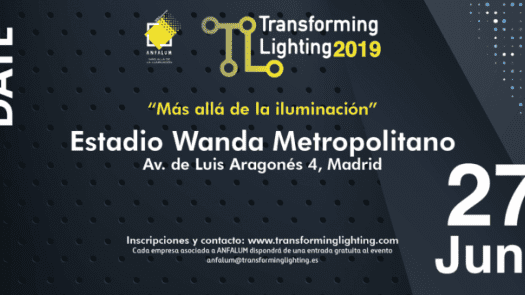 El congreso Transforming Lighting 2019 se celebrará el 27 de junio en el Wanda Metropolitano de Madrid