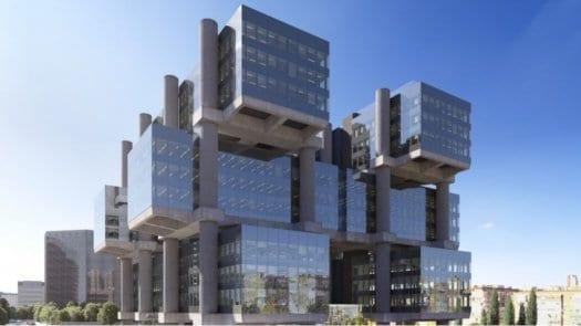 Recuperadores de calor URC de Airlan: eficiencia, calidad del aire interior y confort acústico en el Edificio Los Cubos en Madrid
