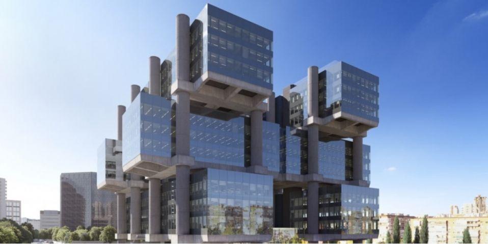 Edificio Los Cubos en Madrid