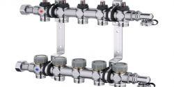Equilibrado hidráulico para sistemas de suelo radiante y refrescante Multidis SFQ de Oventrop