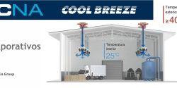 Climatización de grandes espacios con Tecna Coolbreeze