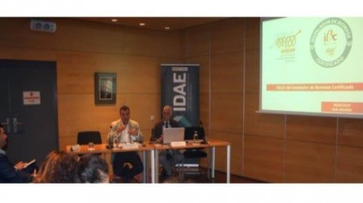 """Presentación del sello """"Instalador de Biomasa Certificado"""""""