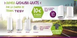 Promoción: TESY regala gasolina por la compra de termos Bellislimo y Modeco