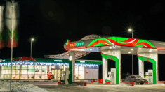 Proyecto luminarias led en gasolineras
