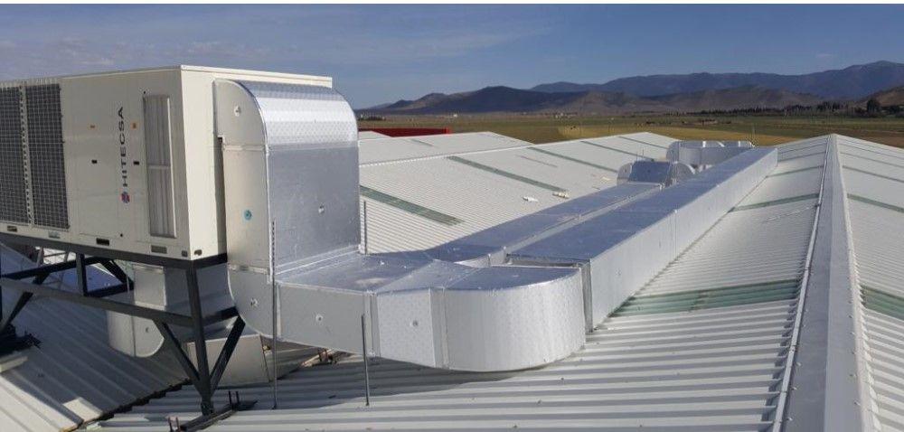 Roof top hitecsa instalación argelia