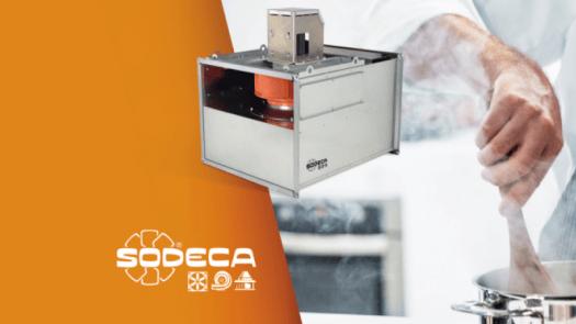 Nuevas unidades de extracción de aire In-Line de Sodeca de alta eficiencia energética