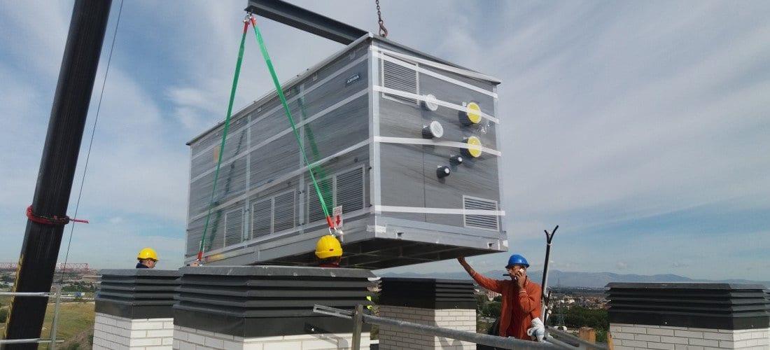 Roof top de Adisa Heating para climatización