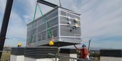 Dos Roof Top de Adisa Heating climatizan el Residencial Suite 228, el Cañaveral de Madrid