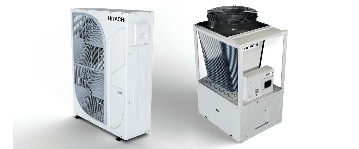 Enfriadoras de agua Hitachi
