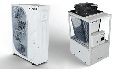 Nuevas enfriadoras de agua Hitachi con compresores inverter
