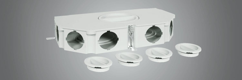Colector plano para sistemas de ventilación Fraenkische
