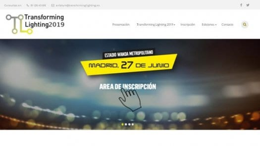 Transforming Lighting 2019; programa definitivo