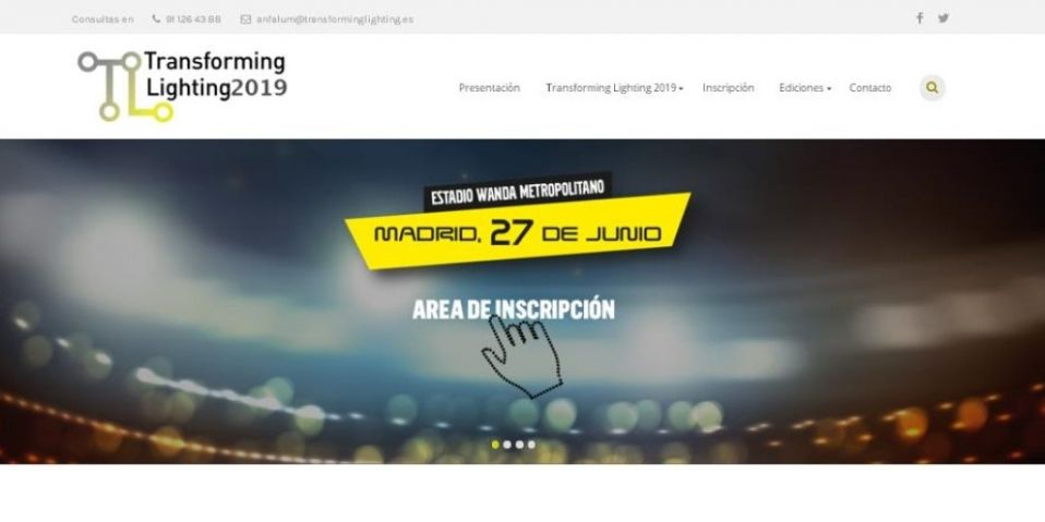 Transforming lighting 2019 programa definitivo