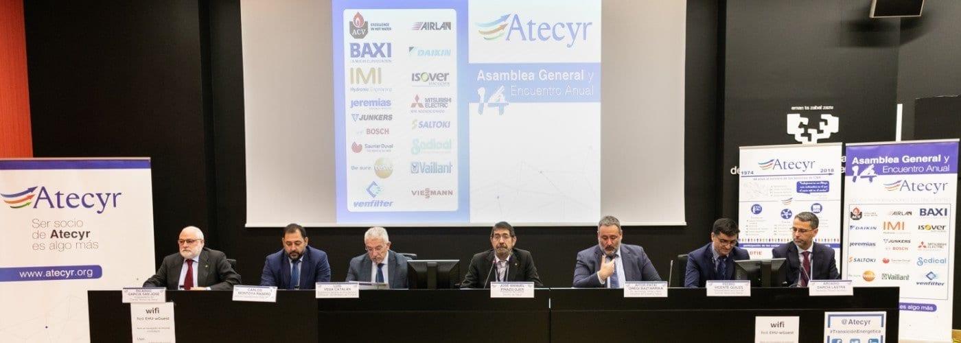 Encuentro anual atecyr sobre transición energética