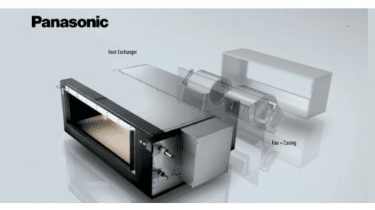 Nueva solución para aire acondicionado comercial R32 Big PACi con conductos divididos de Panasonic