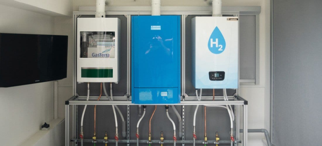 Baxi primera caldera de hidrógeno