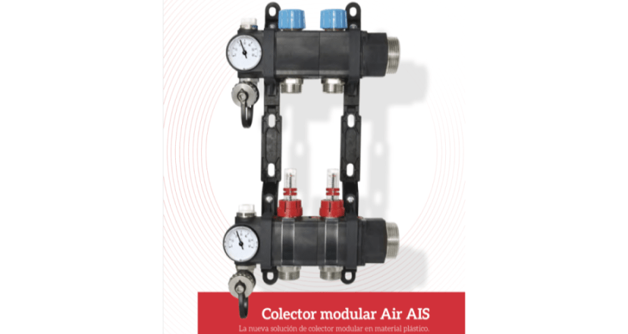 colector air multitubo