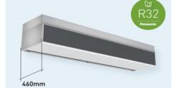 Nueva cortina de aire con batería de expansión directa de Panasonic