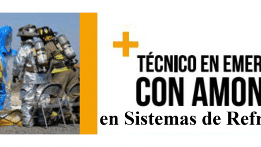"""Curso """"Técnico en emergencias con amoniaco en sistemas de refrigeración"""" de AEFYT"""