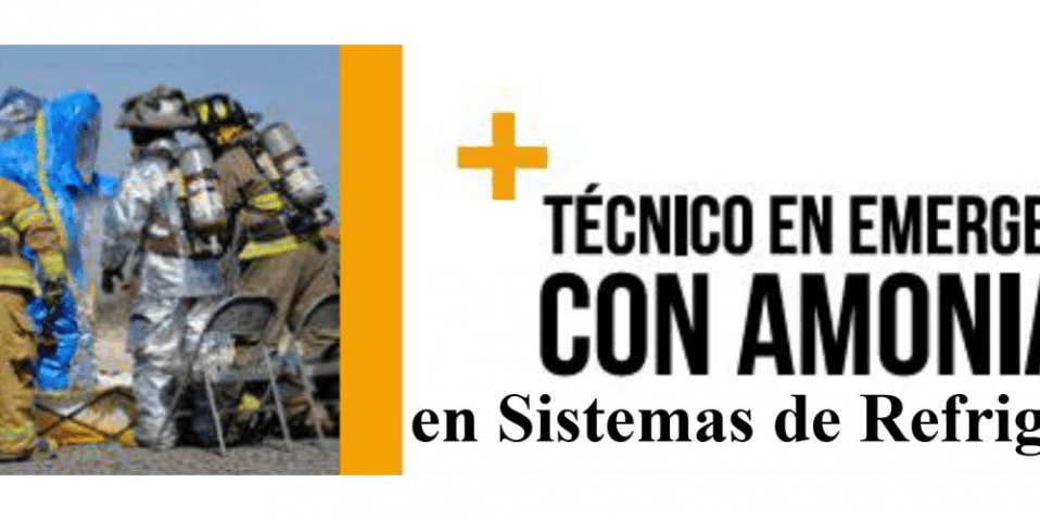 Curso técnico emergencias con amoniaco