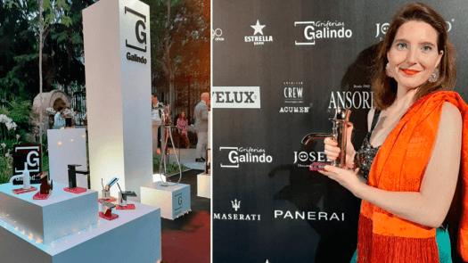 La distinción de Griferías Galindo en el XX Aniversario de Fuera de Serie