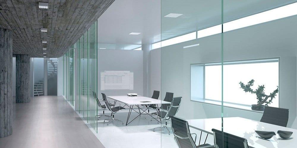 Luminarias LED para entornos de trabajo modernos, conforme a la normativa y estética ERCO Jilly