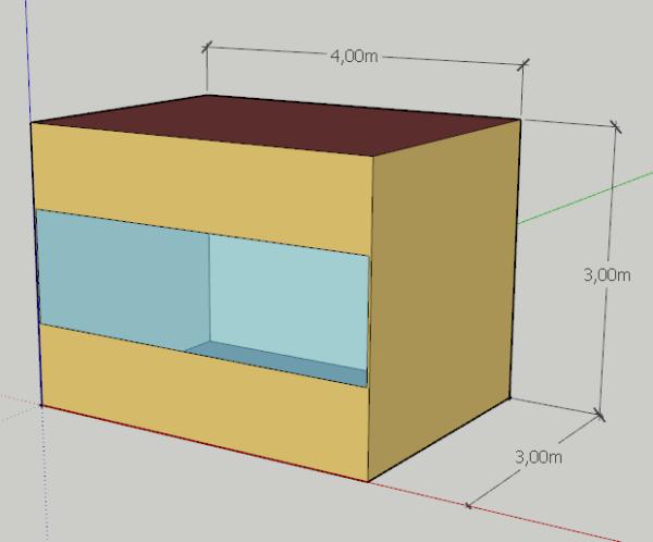 superficie de fachada