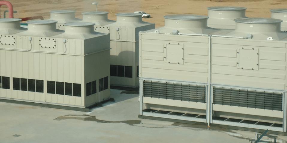 torres de refrigeración evaporativa