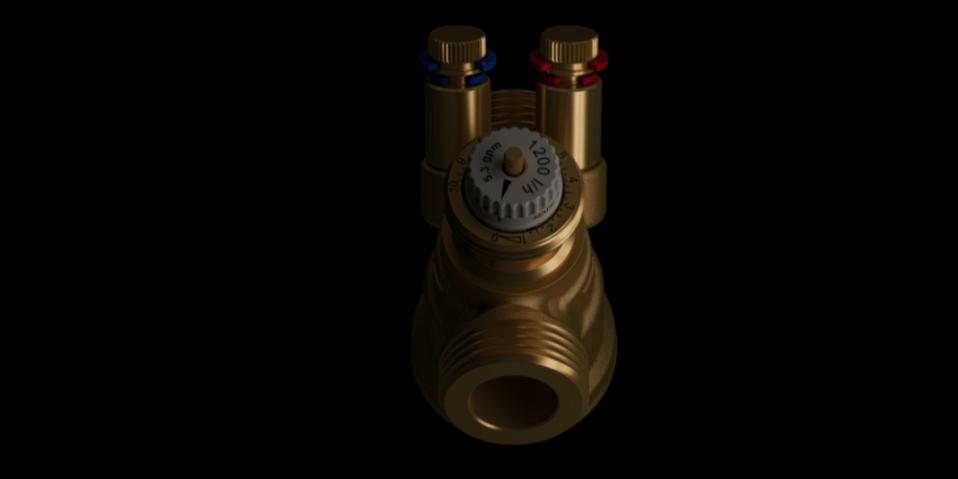Válvula equilibrado hidráulico danfoss