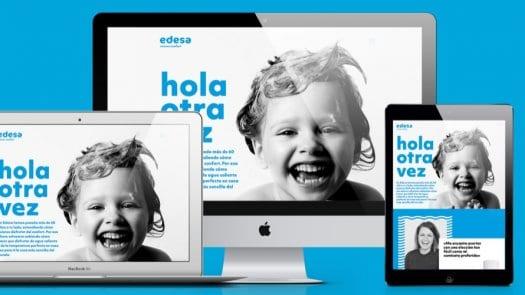 Edesaconfort.com, la nueva web de Edesa que piensa en las familias