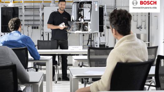 Nuevo Plan de Formación para instaladores de Bosch Termotecnia