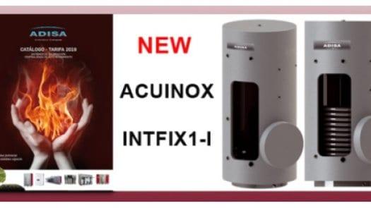 Nueva gama de acumuladores en acero inoxidable de Adisa Heating
