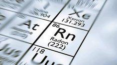 radón en los edificios