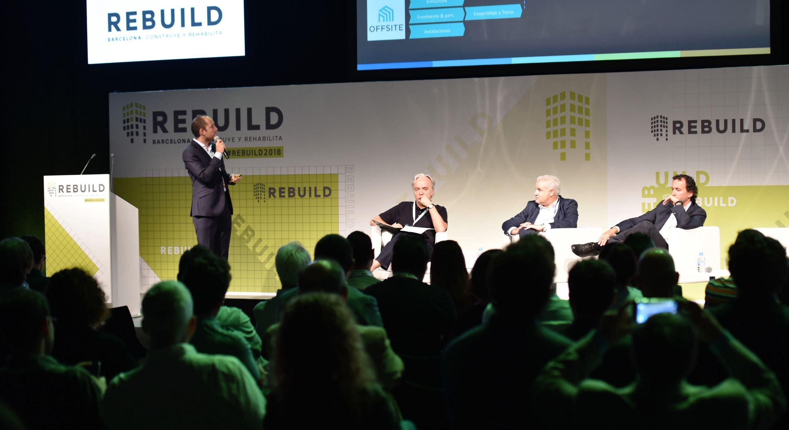 Madrid será la capital de la arquitectura avanzada con REBUILD 2019