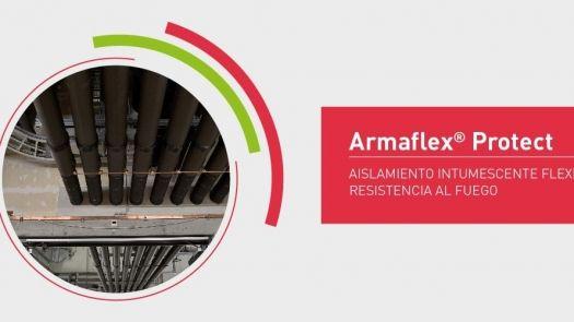 Aislamiento Armaflex Protect contra incendios