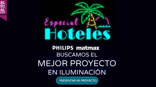 Signify y Matmax buscan el mejor proyecto de iluminación de hoteles