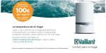 Promoción calderas: 100 € de regalo para adquirir una caldera Vaillant