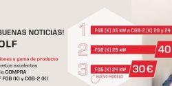 """Promoción calderas de condensación: """"SIEMPRE BUENAS NOTICIAS CON WOLF"""""""