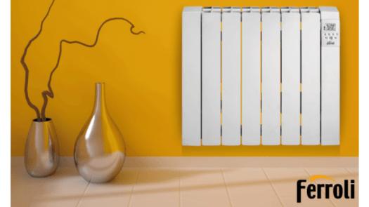 Ferroli presenta su gama de radiadores eléctricos Rimini DP en Brico Depôt