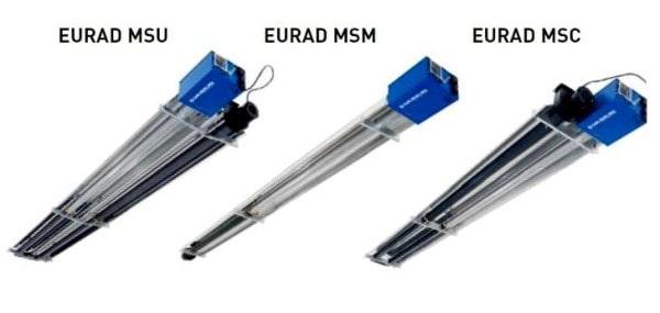 tubos calefacción radiante eurad
