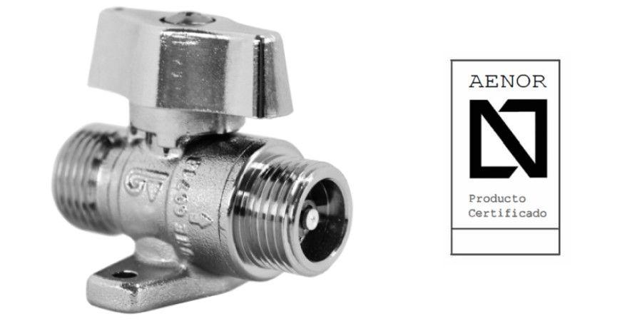 válvula gas con limitador caudal