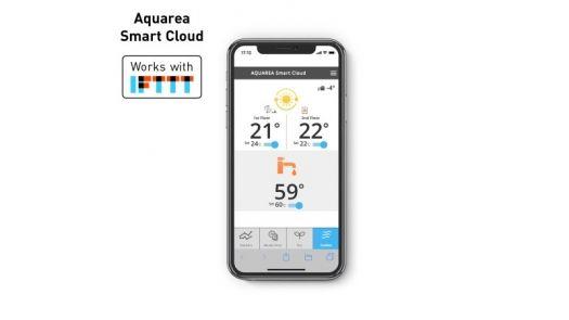 Aquarea Smart Cloud permitirá el control a través del móvil con IFTTT