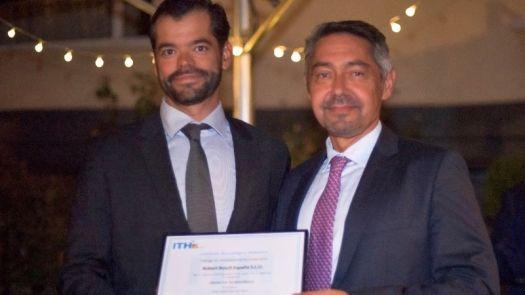 """Bosch Termotecnia recibe el premio """"Socio tecnológico ITH"""""""