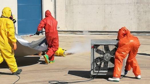 Primer Curso de emergencias con amoniaco en sistemas de refrigeración